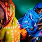 A woman holds her young baby in a therapeutic feeding centre, supported by UNICEF. Kate Holt.