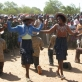 Women who work for UNMIS dance at the celebration held for UN peacekeepers Day. Kate Holt.