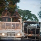 UN troops from Brazil go out on patrol in Port au Prince. Kate Holt.