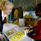 Quentin Bryce, Governor General of Australia (C) meets a child who is a part of the Sishemo Foundation. Kate Holt.