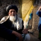 An elderly man who has been displaced by recent fighting in Helmand Province. Kate Holt.
