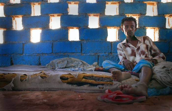Kassahun was a soldier in the Ethiopian army, but fled to Bosasso, Somalia. Kate Holt.