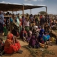 Newly arrived refugees from Somalia wait to be registered at Dagehaley camp. Kate Holt.
