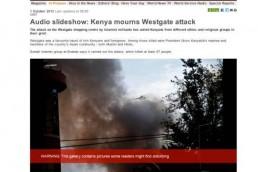 Kenya Mourns Westgate Attack