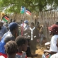 People celebrate the third Anniversary of the SPLM in Muniki, Southern Sudan. Kate Holt.