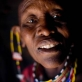 Lente Orumoi, 45 years old and who underwent Trachoma Surgery last year, poses for a photograph. Kate Holt.