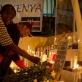 A candlelit vigil is held for people who died in the terrorist attack on Westgate Shopping Centre. Kate Holt.