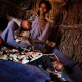 Newly arrived refugees from Somalia live in cramped and makeshift homes on the outskirts of Dagehaley camp. Kate Holt.