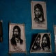 Photos of the prophet Mohammed decorate the walls of a mosque where women take part in a WASH training. Kate Holt.