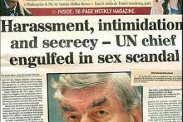 UN Chief Engulfed in Sex Scandal