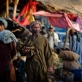 An elderly man walks through the market in Garmsir, Helmand Afghanistan on the 26th March, 2010. Kate Holt.