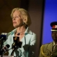 Quentin Bryce, Governor General of Australia, addresses a meeting with prominent Kenyan women. Kate Holt.