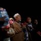 An Islamic Community Elder from the Somali Eastleigh District of Nairobi addresses the media. Kate Holt.