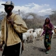 In Southern Ethiopia and Northern Kenya, the severe drought has led to increased pressure on grazing land. Kate Holt.