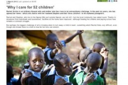 Why I care for 52 children