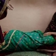 24 year old Bibi lies on the floor of the maternity unit in Mirwais Hospital. Kate Holt.