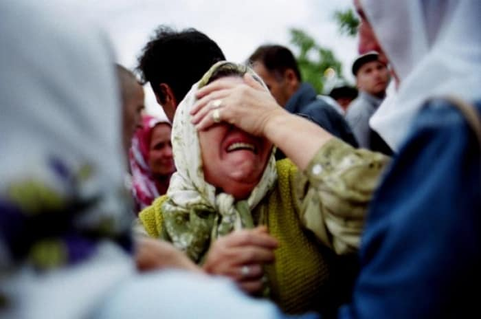 Ten years since the war in Bosnia ended with the signing of the Dayton peace agreement. Kate Holt.