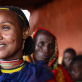 Women in one of drought stricken regions of south Eastern Ethiopia in which Care is working. Kate Holt.