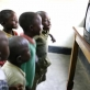 This is the only television in Don Bosco orphanage and it is so small the children have to take turns. Kate Holt.