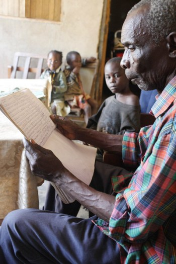 John Riukaamya is 73 years old and lives near Hoima in Eastern Uganda. Kate Holt.