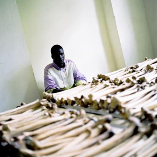 Gerald Ndagijimana, 27 years old, Kibungo Church. Kate Holt.