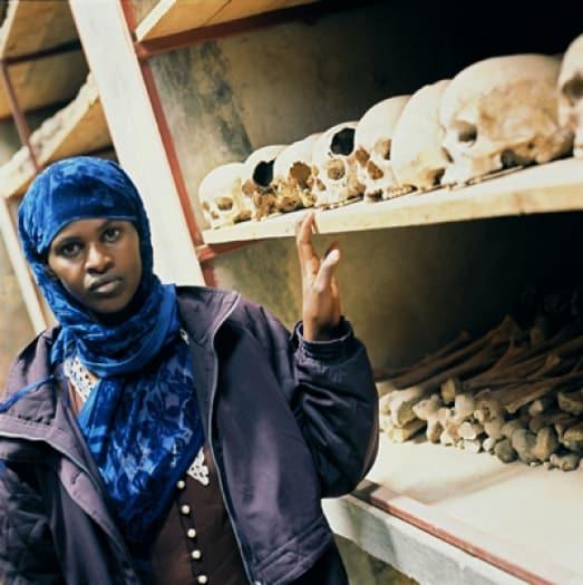 Christine Nyarahabimanam, 24 years old, Kibungo Church. Kate Holt.