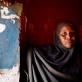 The mother of Sophia Abdi Razak Abdi poses for a photograph at her home in the Shabelle IDP settlement in Garowe. Kate Holt.
