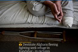 Afghans in Kandahar