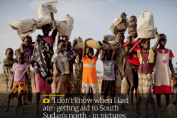 Getting aid to South Sudan