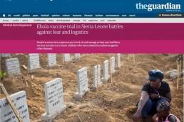 Ebola vaccine trial
