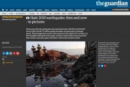 Haiti 2010 earthquake: then and now