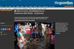Rebuilding after Ebola