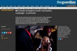 Somalia emergency polio vaccination campaign