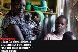 Families in Kibera