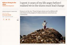Kiberia - living in the slum