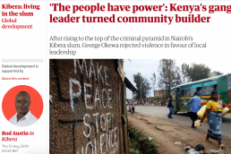 Kenya's gang leader building communities